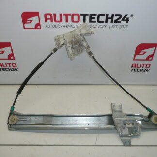 Left window mechanism PEUGEOT 407 9644893580 9221Q6