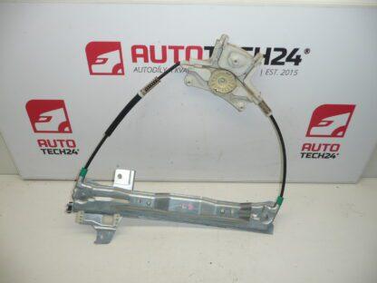 Left window mechanism PEUGEOT 407 9644893780 922385