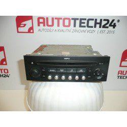 CITROEN PEUGEOT 96643698XT00 car radio with CD