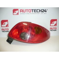 P rear lamp light PEUGEOT 206 3 / 5DV 6351S0
