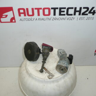 Set of locks + 1 foil CITROEN C4 4162EP
