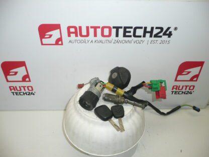 Lock set CITROEN C2 C3 4162CL