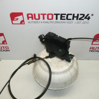 Left door lock PEUGEOT 207 24090816 9135V6