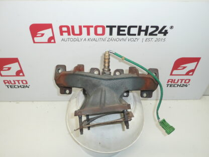 Exhaust manifolds 1.1 and 1.4 and 1.6 8V CITROEN PEUGEOT 9661916480 0341F9