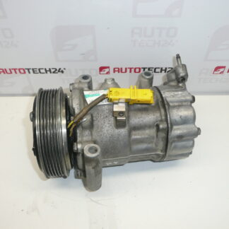 Air conditioning compressor SANDEN SD6V12 1449F 9655191580