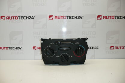Air conditioning heating control PEUGEOT 206 6451EH 6451VG