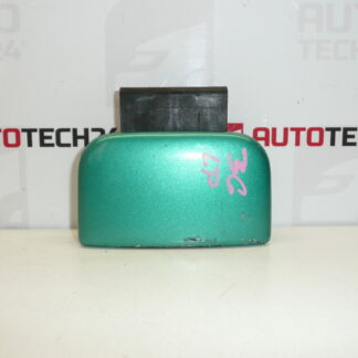Left door handle CITROEN BERLINGO green 9101H6
