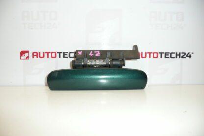 Left rear door handle CITROEN XSARA green metallic 9101N4
