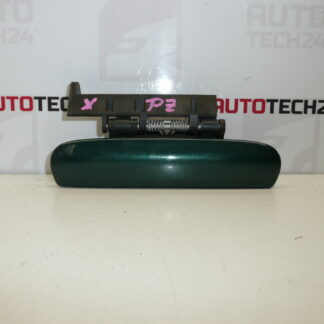 Right rear door handle CITROEN XSARA green metallic 9101N5