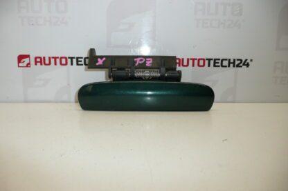 Right rear door handle CITROEN XSARA green metallic 9101N5