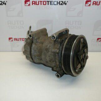 Air conditioning compressor SANDEN SD6V12 1907 CITROEN PEUGEOT 9684480180 6453XP