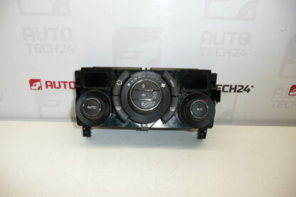Heating and air conditioning control PEUGEOT 308 96850724XT 6452J4