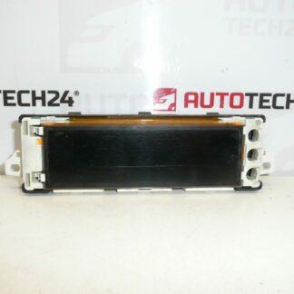 Computer radio display PEUGEOT 207 6593R7 6593R8