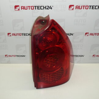 Right rear lamp PEUGEOT 307 SW 9655768480 6351X2