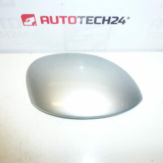 Right mirror cover CITROEN XSARA PICASSO 96394422ZR silver with EZRC