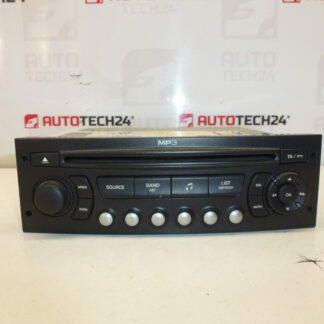 Car radio with CD MP3 CITROEN PEUGEOT 964769777