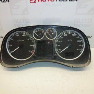 Speedometer PEUGEOT 307 mileage 151 thousand km 9655476380 G00