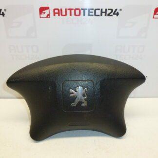 Airbag driver steering wheel PEUGEOT PARTNER II 96639597XT01 4112KY