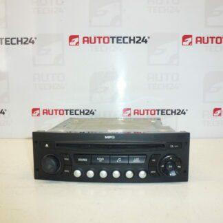 Car radio with CD MP3 CITROEN PEUGEOT 96662670XT