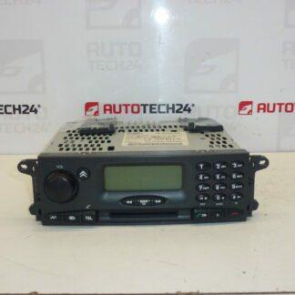 Car radio with CD CITROEN C5 I GSM navi 96441980ZK