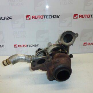 Turbo TD02H2-07-TVT-21 CITROEN PEUGEOT FORD 1.4 1.6 HDI 9673283680