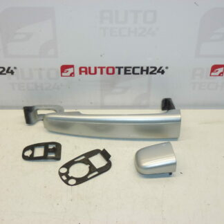 Door handle CITROEN PEUGEOT silver EZRC 9101W8